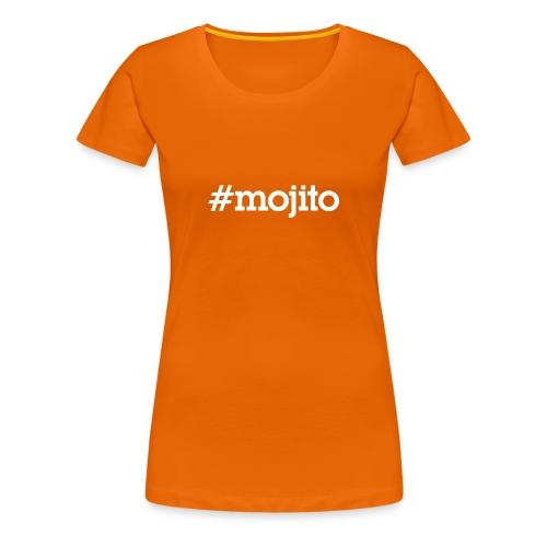 Hashtag Mojito - blanc - T-shirt Premium Femme