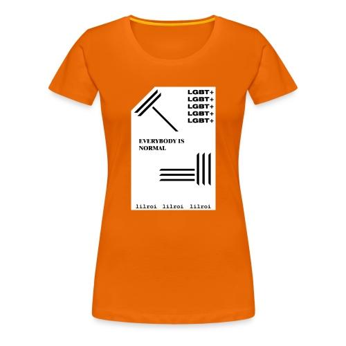 lgbt+ - lilroi - Frauen Premium T-Shirt