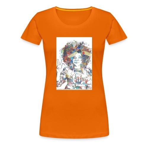 Live and let live, Geschenkidee - Frauen Premium T-Shirt
