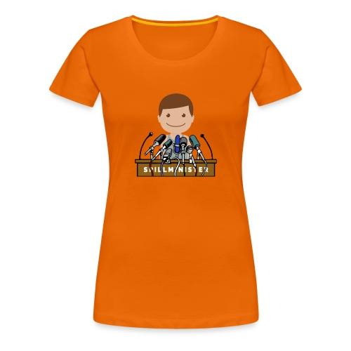 Spillminister logoen - Premium T-skjorte for kvinner