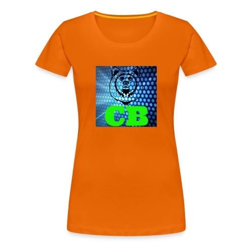 CB Classic T-shirt - Premium T-skjorte for kvinner