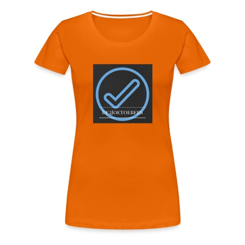 The2Joetoebers - Vrouwen Premium T-shirt