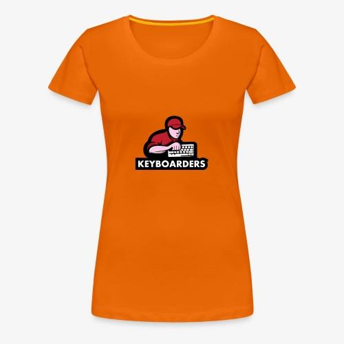 The Keyboarders - Dame premium T-shirt