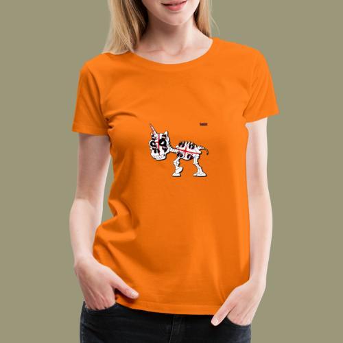 Der erste Sarde - Frauen Premium T-Shirt