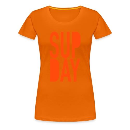 supday - Vrouwen Premium T-shirt