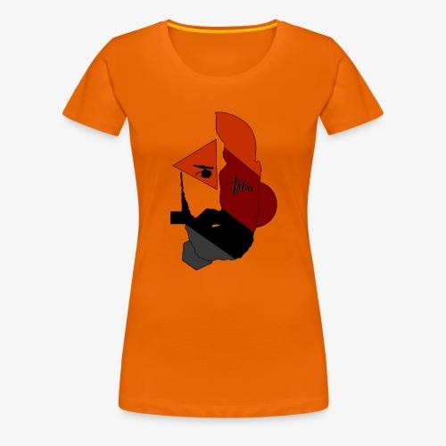 rostrocarrancogeometrico - Camiseta premium mujer
