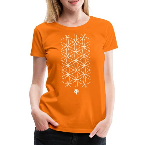 Muster Alien - Frauen Premium T-Shirt