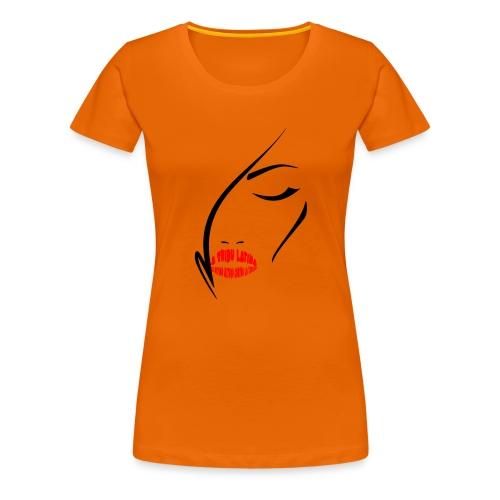 LTL woman lips - Maglietta Premium da donna