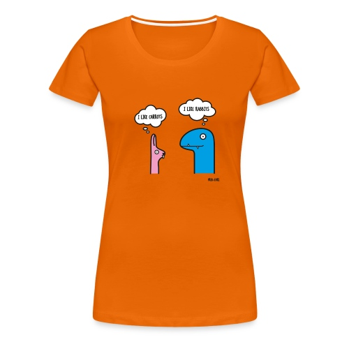Fred Earl Like Carrots - Frauen Premium T-Shirt