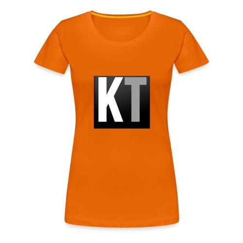 KT iPhone edition phone case - Women's Premium T-Shirt