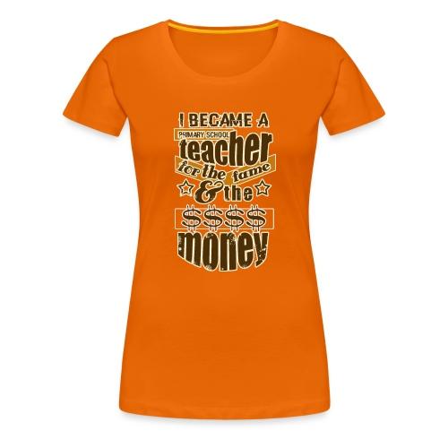 Primary school teacher t-shirt, teacher t shirt - Camiseta premium mujer