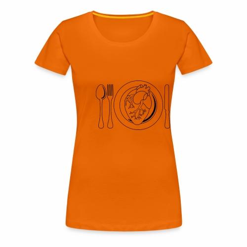Es ist angerichtet. - Frauen Premium T-Shirt