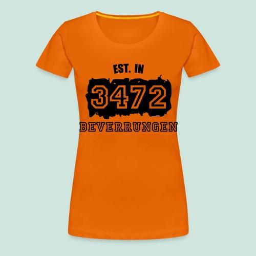 Established 3472 Beverungen - Frauen Premium T-Shirt
