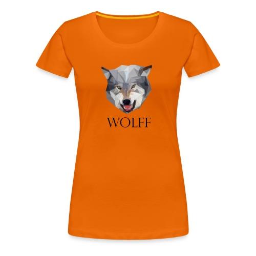 Wolff tshirt Ladies - Vrouwen Premium T-shirt