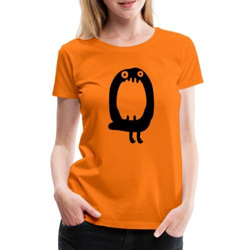 Buchstabe Monster O - Frauen Premium T-Shirt