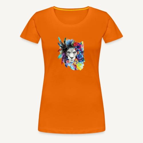 Lion - Camiseta premium mujer