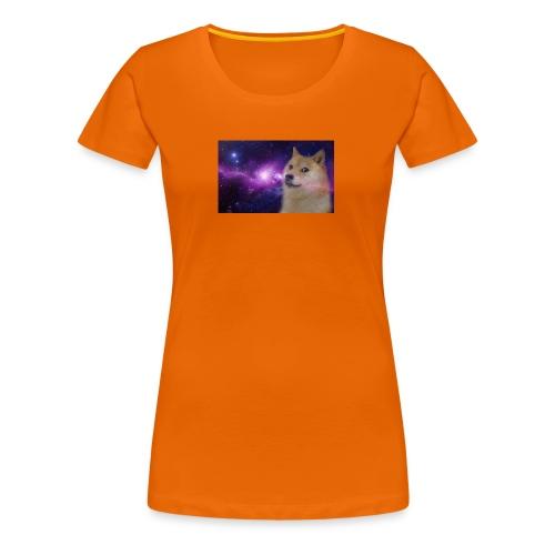doge is god - Dame premium T-shirt