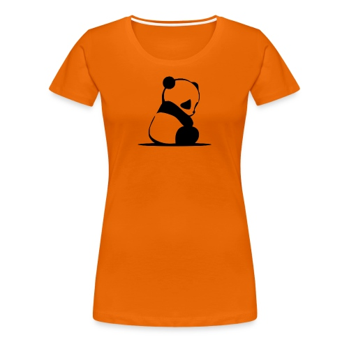 Pandabär - Frauen Premium T-Shirt