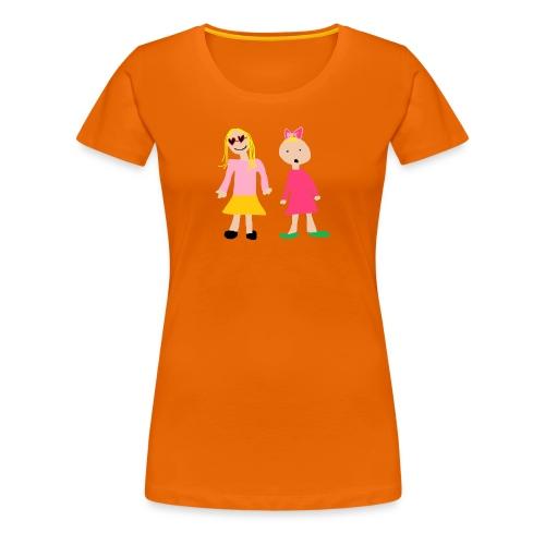 Siiri ja Elsi - Naisten premium t-paita