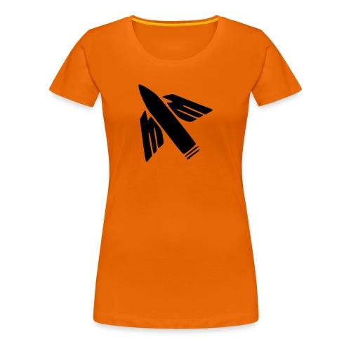 Ilmatorjuntamies - Naisten premium t-paita