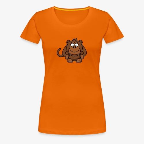 monkey - Maglietta Premium da donna
