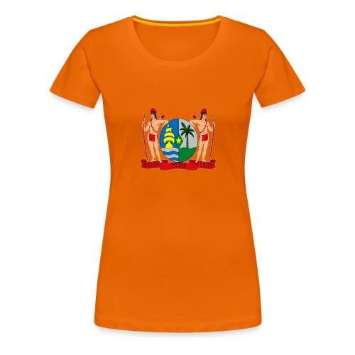 wapen van suriname png - Vrouwen Premium T-shirt