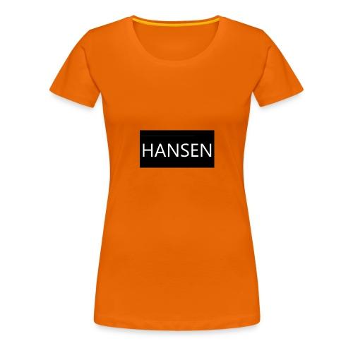 HANSENLOGO - Dame premium T-shirt