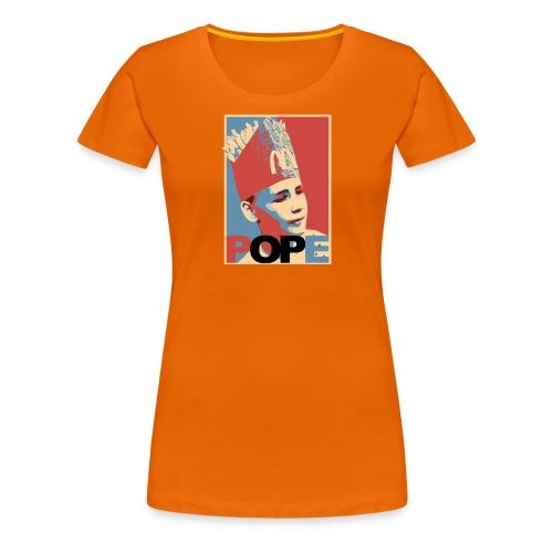 BEOP POPE Original design - Premium T-skjorte for kvinner