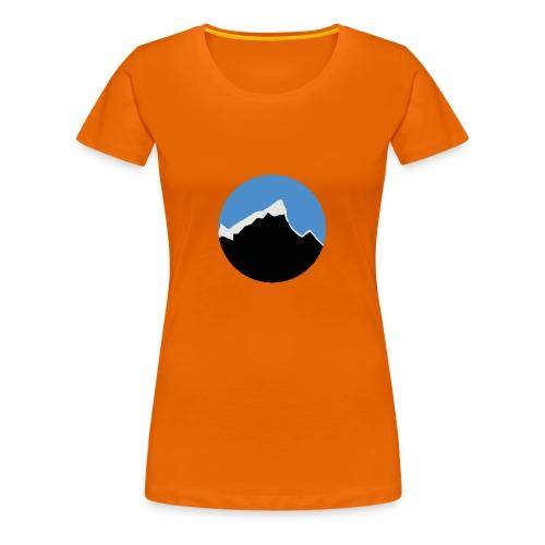 FjellTid - Premium T-skjorte for kvinner