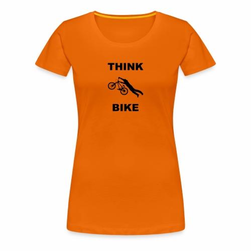 THINK BIKE - Women's Premium T-Shirt