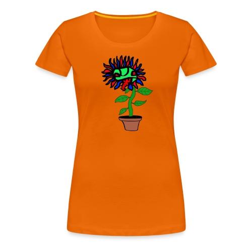 Fleischfressende Pflanze - Frauen Premium T-Shirt