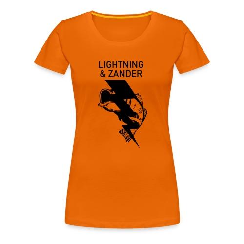 Lightning & Zander - Frauen Premium T-Shirt