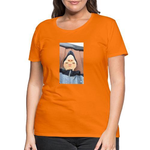 Nathalii är en näs-modell - Premium-T-shirt dam