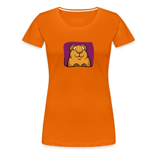 Smiley Piggy - Frauen Premium T-Shirt