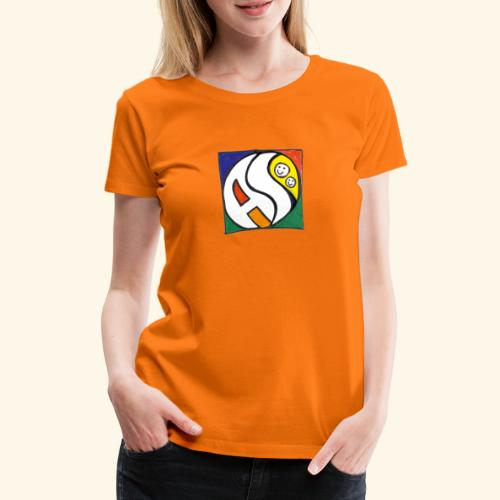 AS (nur Logo) - Frauen Premium T-Shirt
