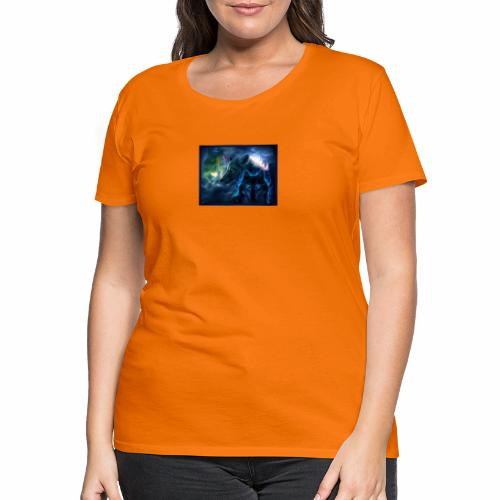 3 wunderschöne Wölfe - Frauen Premium T-Shirt
