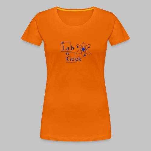 Lab Geek Atom - Women's Premium T-Shirt
