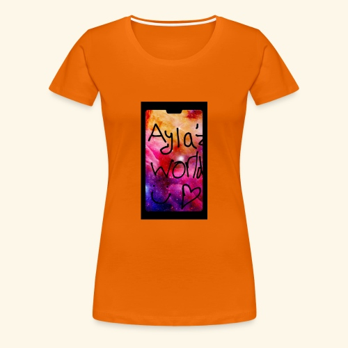 Ayla'z World Galaxy T-Shirt - Women's Premium T-Shirt
