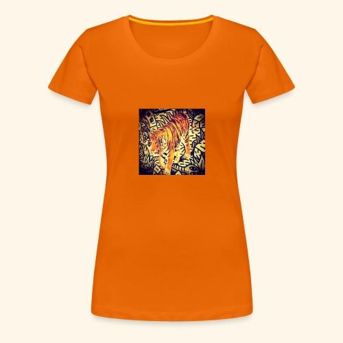 tiger gun 111 - Women's Premium T-Shirt