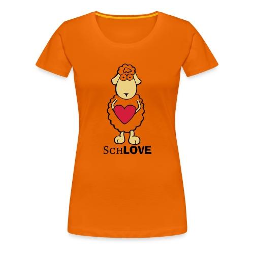 Schaf/Schäfchen/Love - Frauen Premium T-Shirt