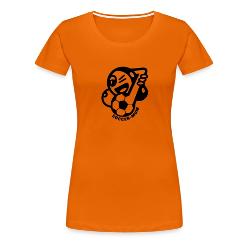 soccermum - Frauen Premium T-Shirt