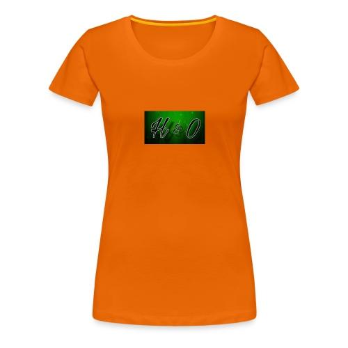 H & O - Premium-T-shirt dam
