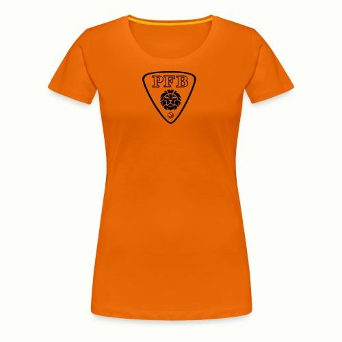 NEW LOGO PFB noir et blan - T-shirt Premium Femme