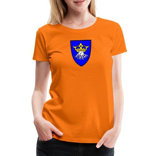Wappen von Kronstadt in Siebenbürgen - Frauen Premium T-Shirt