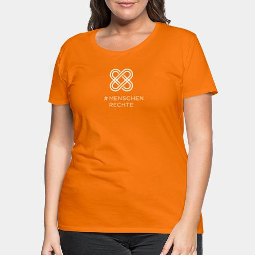 Menschenrechte - Frauen Premium T-Shirt