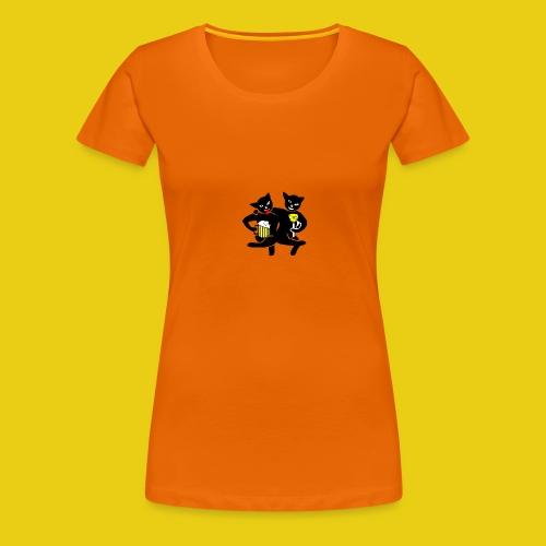 katzenshirt - Frauen Premium T-Shirt