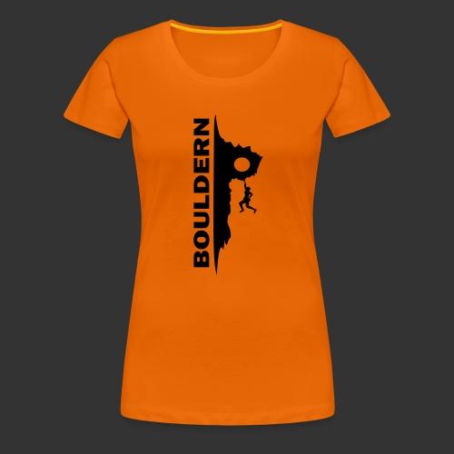 Bouldern - Frauen Premium T-Shirt