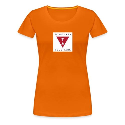 Drikkeflaske - Premium T-skjorte for kvinner
