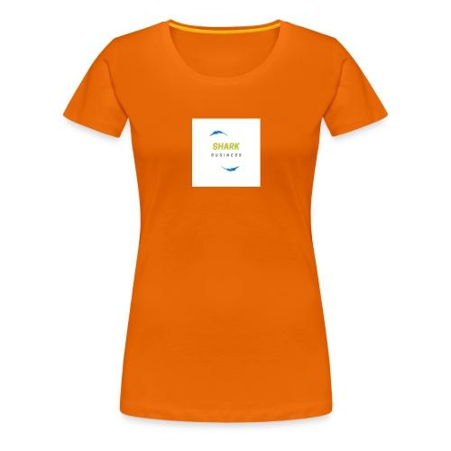 LOGO SHARK BUSINESS - Camiseta premium mujer