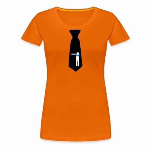 Cravatta Dab Black/ Kravatte / Cravate /Necktie - Maglietta Premium da donna